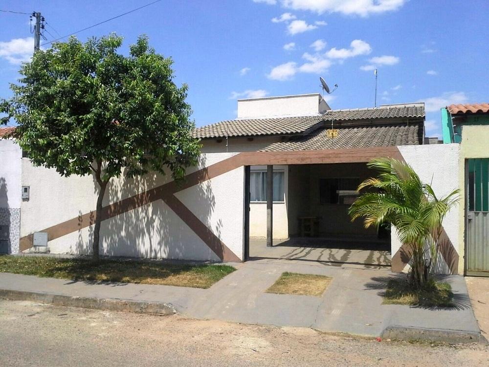 Casa a venda de 75 m², com 3 quartos sendo 1 suíte no Triunfo - Goianira - GO.